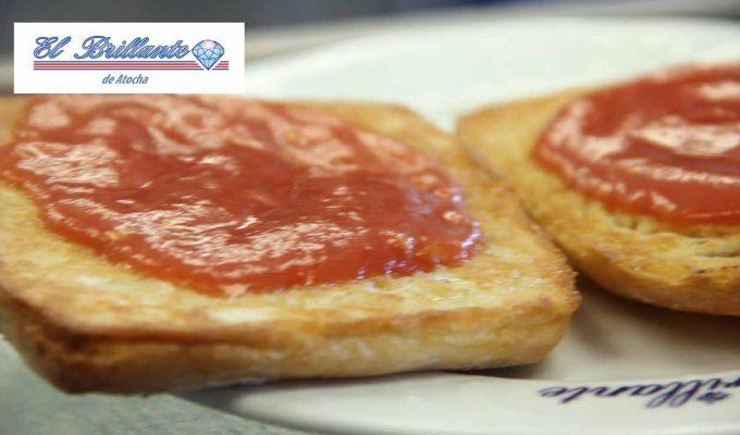 Pan con Tomate - EL BRILLANTE DE ATOCHA