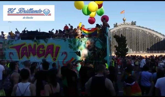 Madrid Orgullo 2016 - EL BRILLANTE DE ATOCHA