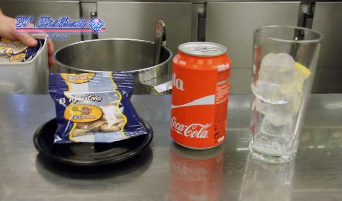 Cocacola con aperitivo - EL BRILLANTE